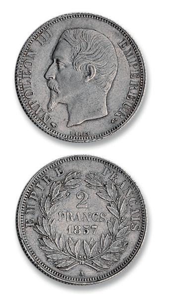 Seconde Empire (1852-1870) 2 francs Napoléon...