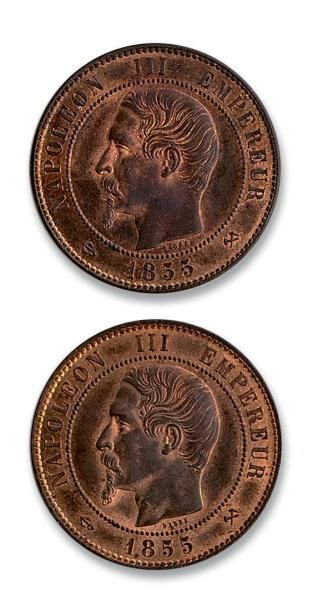 Second Empire (1852-1870) 10 centimes. 1855....