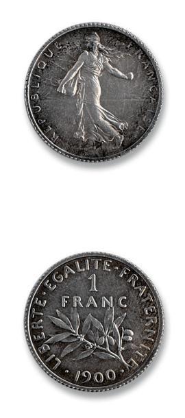 Troisième République (1871-1940) 1 franc,...