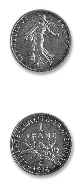 1 franc. 1914. Castel sarrasin. 100 francs....