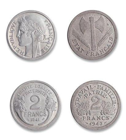 État Français (1940-1944) 2 francs Morlon....