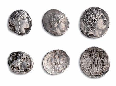 Tétradrachme: 5 exemplaires. Alexandre III...