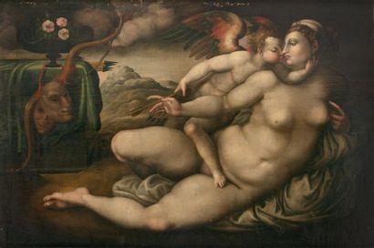 D'après Jacopo Carrucci dit IL PONTORMO (Pontormo (Empoli) 1494-Florence 1556)