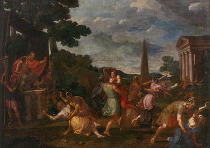 Ecole française ou romaine du milieu du XVIIe siècle