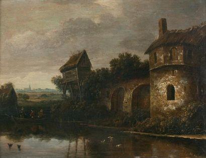 Nicolaes MOLENAER (Haarlem vers 1628/1629-1676)