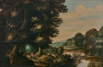 Attribué à Gaspar van der LANEN (Anvers 1592-vers 1651)