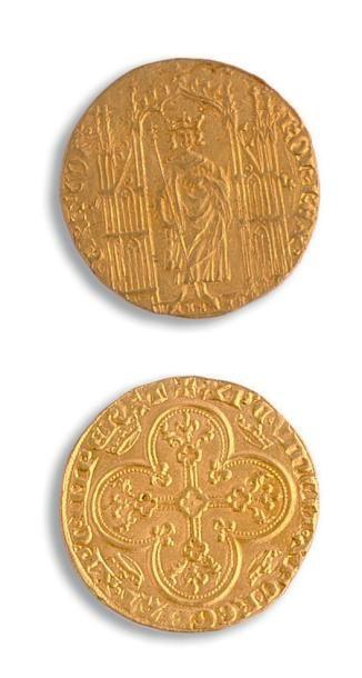 Charles IV (1322-1328) Royal d'or. 4,18 g....