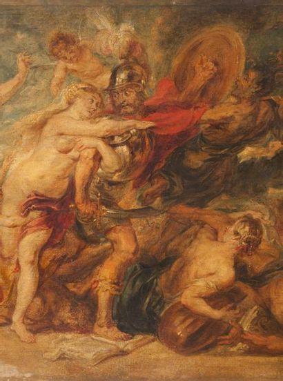 D'après Pierre-Paul RUBENS (Siegen (Westphalie) 1577-Anvers 1640) Les Horreurs de...