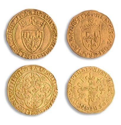 Charles VI (1380-1422): Écu d'or à la couronne....