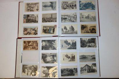 Deux albums de cartes postales sur l'Afrique...