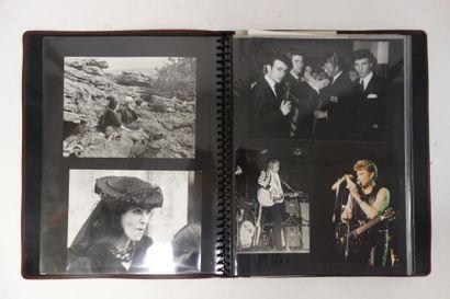 Album de photographies, tirages de presse,...