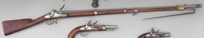 Fusil de Dragon modèle An IX. Canon rond...