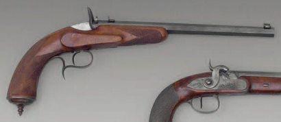Pistolet de tir système Flobert, un coup,...