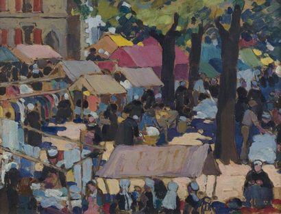 Attribué à Jeanne-Marie BARBEY (1876-1960)