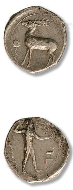 ITALIE Bruttium, Caulonia (480-388 av. J.-C.)....