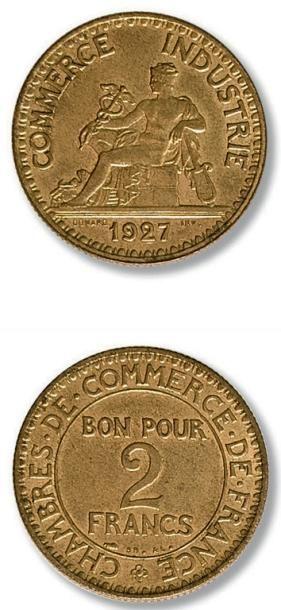 Troisième République (1871-1940) 2 francs....
