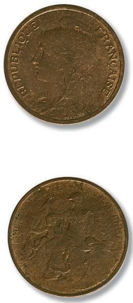 Troisième République (1871-1940) 5 centimes...