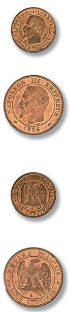 Lot de 72 pièces de deux centimes Seconde...