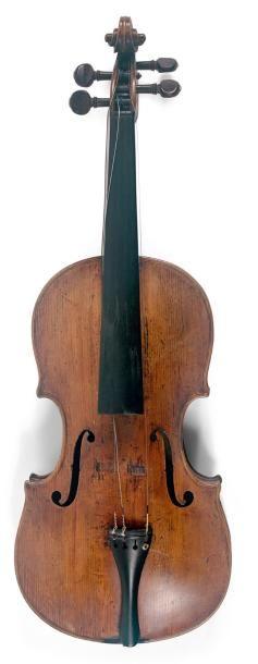 Violon XIXe portant étiquette d'Antonio LAVEZZARI...