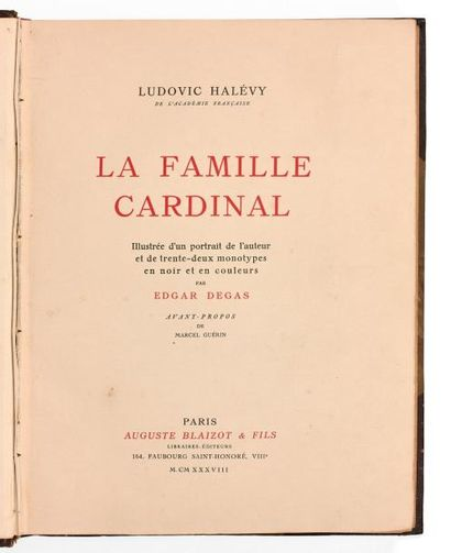 Ludovic HALÉVY - DEGAS Edgar