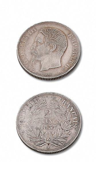 SECOND EMPIRE (1852-1870) 2 francs. 1857A....