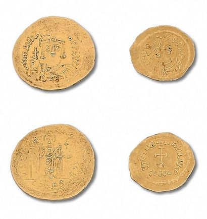 TIBÈRE II CONSTANTIN (578-582) Trémissis....