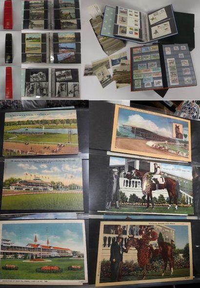Collection de cartes postales du XXème siècle...