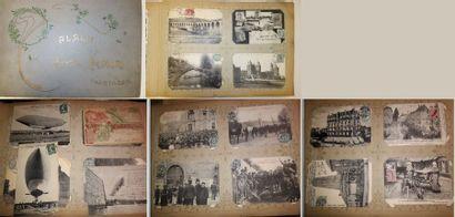 Album de cartes postales du début du XXème...
