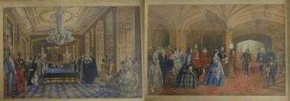 Installation de la Reine Victoria - Visite...