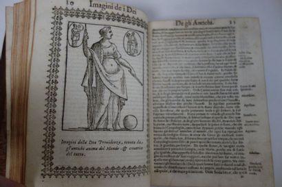 IMAGINI DELLI DEI DEL CARTARI, PADOV, 1626.