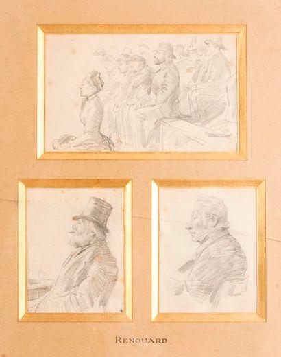 Attribués à Paul RENOUARD (1845-1924)