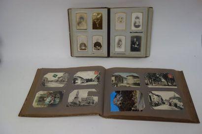 Album de cartes postales de paysages, villes...