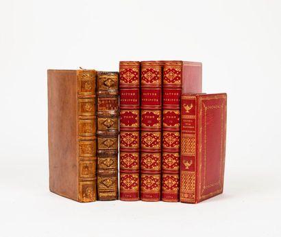 Lot de volumes divers comprenant :  - Satyre...