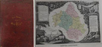 Atlas national.  Illustré des 89 départements...