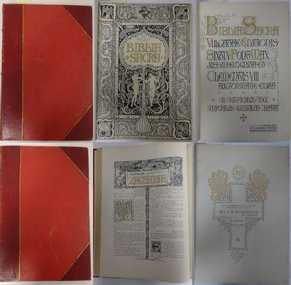 Biblia Sacra.  Haarlem, C.J.M Bottemanne,...
