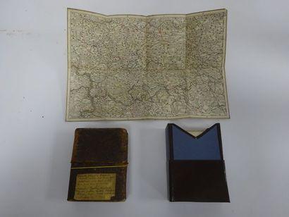 Ensemble de 12 cartes de la Guerre du Rhin...