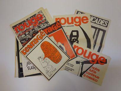 MAI 68  Lot de magazines et revues sur le...
