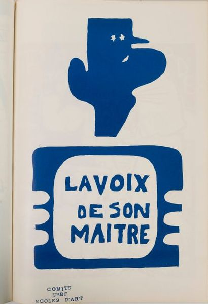 Mai 68 Affiches.  Tchou Editeur, 1968.  Volume...