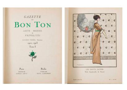 Gazette du Bon Ton, Arts modes et frivolités....