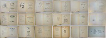 Ensemble de 18 volumes brochés :  - Rainer...
