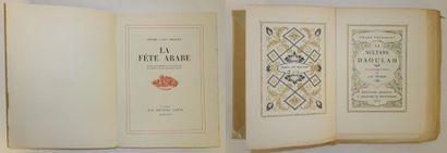 Lot comprenant :  - Franz TOUSSAINT (1879-1955)....