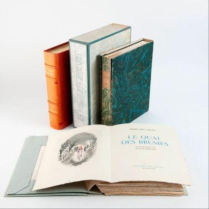 4 volumes :  - Jules RENARD  Poil de Carottes....