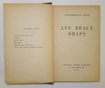Louis-Ferdinand CELINE (1894-1961).  Les...