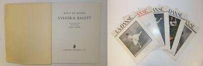 Rolf de MARES (1888-1964).  Svenska Balett....