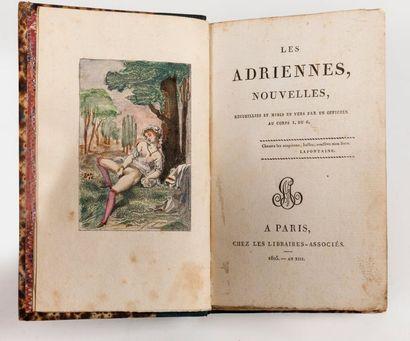ADRIENNES (Les) Nouvelles. Recueillies et...