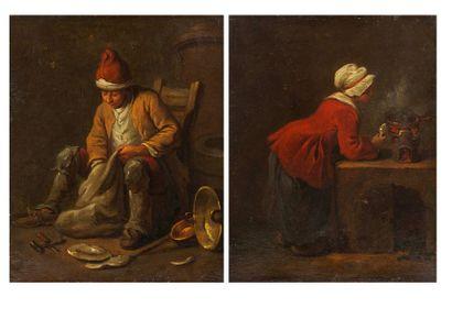 ATTRIBUÉ À JEAN-BAPTISTE CHARPENTIER (PARIS 1728-1806)