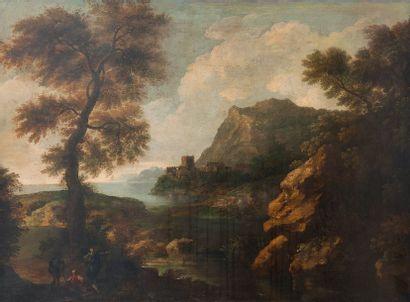 Entourage de Andrea LUCATELLI (1695-1741)
