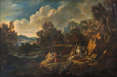 Ecole italienne du dernier tiers du XVIIème siècle