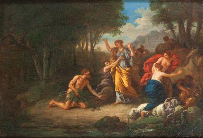 Attribué à Jean-Jacques LAGRENÉE (1739-1821)