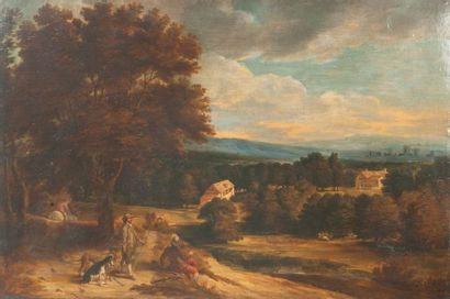 Ecole flamande du milieu du XVIIème siècle